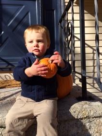 Orange pumpkins!
