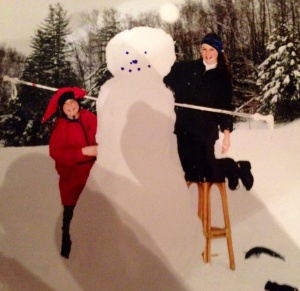 The snowman masterpiece